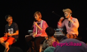 [PHOTOS] F.Y.I with Lunafly Showcase in Jakarta, March 28th 2013 - Q&A Session